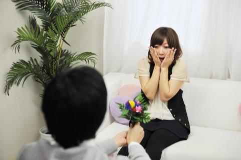 プロポーズされた女性