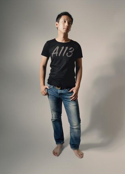 A113のTシャツ