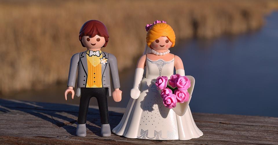 レゴのカップル